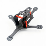 JMT  12892 128mm Wheelbase Mini FPV Frame Kit Carbon Fiber CF Rack For DIY FPV Racing Drone Quadcopter 2.5 inch Props 1103/1104 Motor
