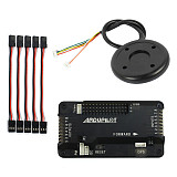 APM 2.8 RC Multicopter Flight Controller Board with Case 6M GPS Compass for DIY FPV RC Drone Multirotor
