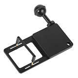 BGNING Camera Bracket Switch Plate Adapter with C-shaped Fitting 1/4 Screw Ball Head for Gopro7/6/5/4/3+/session Action Camera Tripod Stabilizer Gimbal Stabilizer Connect Adapter