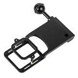 BGNING Camera Gimbal Mount Adapter Switch Plate with Square Fitting 1/4 Screw Ball Head for Gopro Hero 7 6/5/4/3+ for Gopro Session for DJI Osmo Mobile Zhiyun Feiyu Accessory