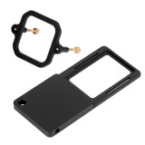 BGNING Camera Bracket Switch Plate Adapter with Square Fitting Accessories for Gopro7/6/5/4/3+/session Action Camera Tripod Stabilizer Gimbal Stabilizer Connect Adapter