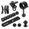 BGNING CNC Aluminum Outdoor Diving Camera Handheld Bracket Set Handle Ball Head Clips for Sports Camera Photography Accessories