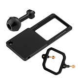 BGNING Camera Bracket Switch Plate Adapter with Square Fitting 1/4 Screw Ball Head for Gopro7/6/5/4/3+/session Action Camera Tripod Stabilizer Gimbal Stabilizer Connect Adapter