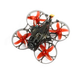 Happymodel Mobula7 HD 2-3S 75mm Crazybee F4 Pro Whoop FPV Racing Drone PNP BNF w/ CADDX Turtle V2 HD FPV Mini Camera 10 pairs Extra Props