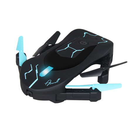 Attop XT-3 Foldable Altitude Hold Quadcopter One Key Take Off 360 Degree Rolling App Control FPV Portable Selfie Drone (720P WIFI)