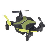 Attop XT-2 Portable Selfie Drone Mini Foldable RC Drone for Beginners and Kids One Key Take OFF WIFI FPV Altitude Hold Quadcopter 30W Wifi Version/ Standard No Camera Version (Green, No Camera)