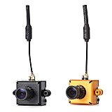 25mw 40CH 5.8G 800TVL AIO FPV Camera LST-01 For RC Racer Racing Drone Quadcopter
