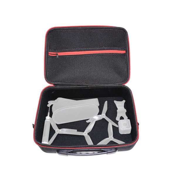 HGLRC Waterproof Portable EVA Hard Drone Handbag Remote Controller Storage Bag Carrying Case for 5  RC Drone Quadcopter Arrow3 HGLRC