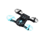 Attop XT-3 Foldable Altitude Hold Quadcopter One Key Take Off 360 Degree Rolling App Control FPV Portable Selfie Drone (30W WIFI)