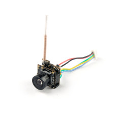 HCF7P AIO VTX Camera 5.8G 40CH 25MW Transmitter 700 TVL 120 degree CMOS Wide Angle NTSC FPV Camera For Happymodel Mobula7 Mobula 7 Sailfly-X FPV Racing Drone Quadcopter