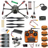 DIY GPS Drone 2.4Ghz 10CH X4 560mm Umbrella Foldable RC Quadcopter 4-Axis ARF Unassemble APM w/ Gimbal FPV Quadcopter