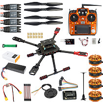 DIY GPS Drone 2.4Ghz AT10 X4 560mm Umbrella Foldable FPV Quadcopter 4-Axis ARF APM Unassemble