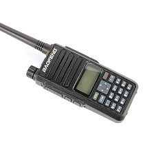 Baofeng DM-1801 Dual Band VHF/UHF DM-1801 Portable Radio 5W Broadband Walkie Talkie Support Alarm Digital Signaling SMS Function