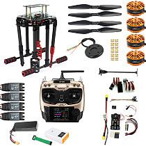 DIY GPS Drone 2.4Ghz AT9S X4 560mm Umbrella Foldable FPV Quadcopter 4-Axis ARF PIXHAWK Flight Control Unassemble