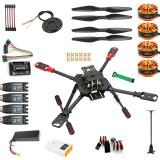 DIY GPS Drone 2.4Ghz X4 560mm Umbrella Foldable FPV Quadcopter 4-Axis ARF APM2.8 Flight Control Unassemble PNP No Remote Controller