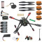 DIY GPS Drone 2.4Ghz X4 560mm Umbrella Foldable FPV Quadcopter 4-Axis ARF APM2.8 Flight Control Unassemble PNP No Remote Controller