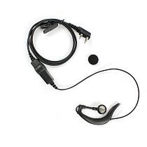 PTT Mic Ear-hook Earphone Headset for Baofeng Walkie Talkie BF-888S UV-5R BF-H8