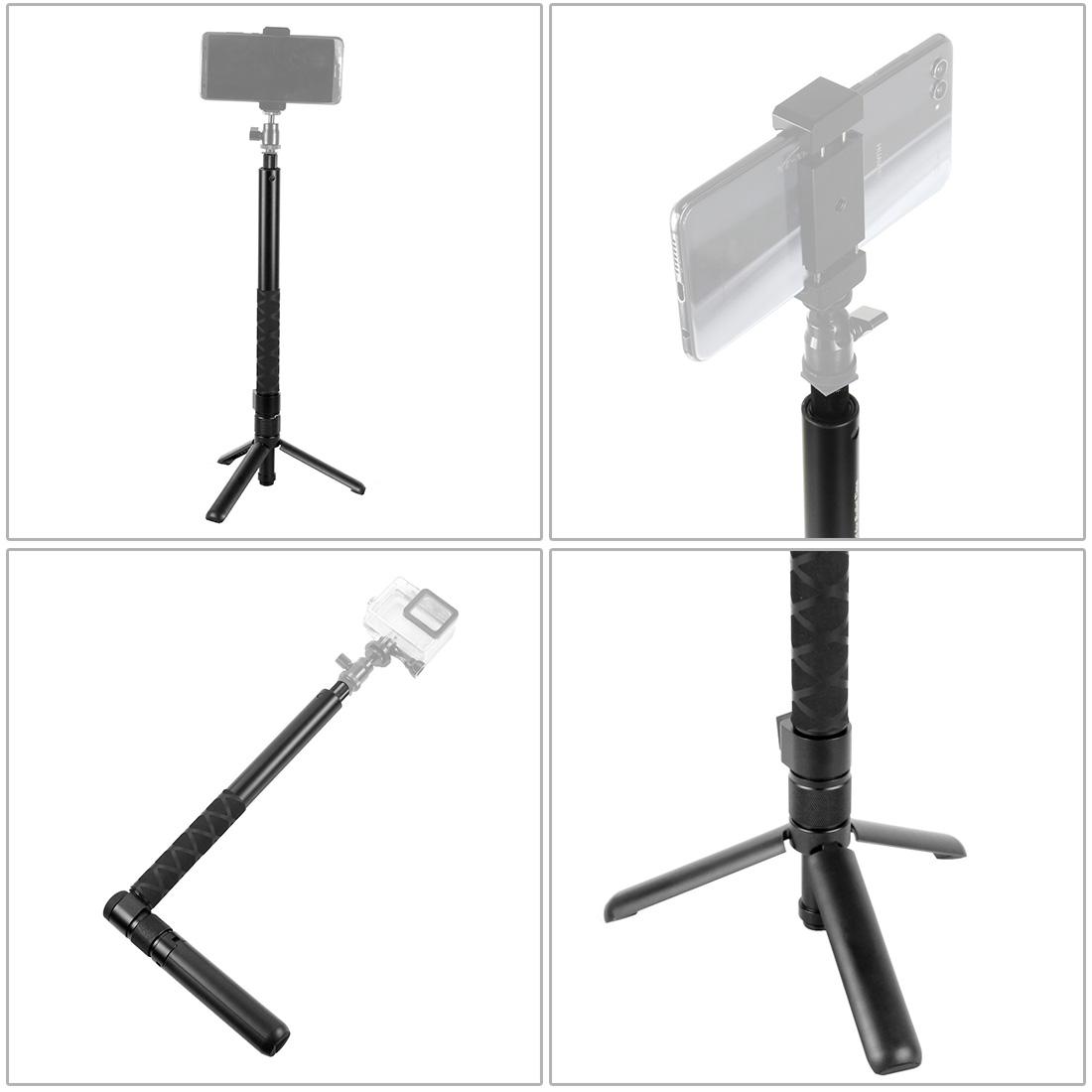 Insta360 ONE X Xiaomi Yi 4K XT-XINTE Extendable Pole Selfie Stick for Hero 7 EKEN SJCAM Handheld Monopod
