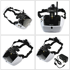 Original Walkera 5.8G 40channels Goggle4 FPV Video image transmission glasses FPV spectacles with antenna