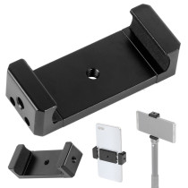 BGNING  Unique 2x / 3x 1/4  Screw Mobile Phone Clip Stand Holder Tripod Monopod Mount for iPhone Huiwei for Gopro Camera Selfie Stick