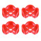 JMT 3D Printed Printing TPU Motor Protection Seat 3D Print Motor Mount Suitable for 2204 to 2306 2212 Brushless Motor DIY FPV Racing Drone Quadcopter 4pcs/set