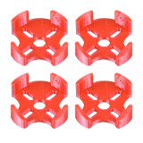 JMT 3D Printed Printing TPU Motor Protection Seat 3D Print Motor Mount 4pcs/set Suitable for 2204 to 2306 Brushless Motor DIY FPV Racing Drone Quadcopter