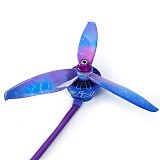 GEMFAN 5043 5inch 3 blade CW CCW Propeller Starry Sky Star Prop Compatible Xing Camo 2207 Brushless Motor for DIY RC Drone FPV Racing Multicopter