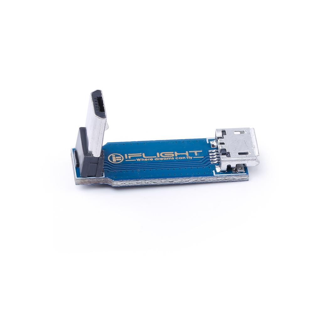 Type C Module Extension Câble de transfert USB IFlight L Type 90° Fly Controler