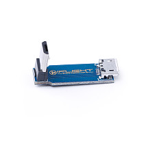 iFlight 90 Degrees L-shaped Right Angle Micro USB Adapter Board Adjustment Extension Board for DIY FPV Racing Drone Quadcopter
