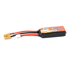 Happymodel 2S 300mah 7.6V XT30 Lipo Battery for Mobula7 V3 Frame Mobula 7 FPV Racing Drone Quadcopter 75mm Bwhoop75 Brushless Whoop