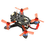 QWinOut 90mm DIY Quadcopter Frame Kit + XT1104-7500KV Motor + Mini F3 OSD 4 in 1 ESC Flight Controller + 5.8G 48CH 25mw OSD Camera + 10 Pairs 1935 Propellers BNF NO Battery (No Receiver)