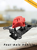 JMT T85 85mm FPV Racing Quadcopter Frame Kit Carbon Fiber Rack with 3D Print Canopy For DIY FPV Racing Drone Multicopter Multi-Rotor Aircraft