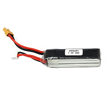 JMT 7.4V 50C 600MAH XT30 Lithium Battery For DIY FPV Racing Drone Quadcopter Multicopter Multi-Rotor Aircraft