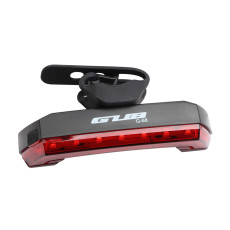 GUB G-68 USB Rechargeable Bicycle Tail Light Wireless Remote Control Taillight with Horn Bell Light