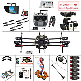 JMT 2.4G 9CH DIY RC PX4 GPS 5.8G FPV 680PRO Hexacopter Unassembled 6-Axle Kit ARF RC Drone MINI3D Pro Gimbal No Battery