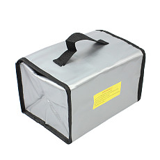 Multifunctional Model Lipo Battery Explosion-proof Bags Safety Case Storage Bag Box for RC Toys Accessories Parts