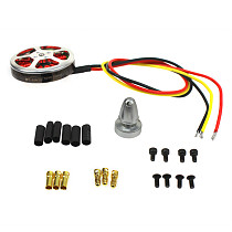 Assembled Kit : 40A ESC Controller 750KV Motor Connection Board Wire for 6-Aix Drone Multi Rotor Hexacopter