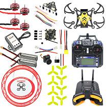 JMT T85 85mm FPV Racing Drone Quadcopter BNF Carbon Fiber Frame Kit Crazybee F4 Pro V2.0 1-3S FC EX1102 9000KV Motor Turbo Eos2 FPV Camera VTX