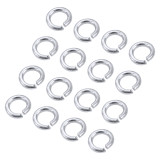 100pcs/lot M3 Screw Spring Washer Split lock washer For Gear motor mount/Servo Bracket/Robot Car Chassis