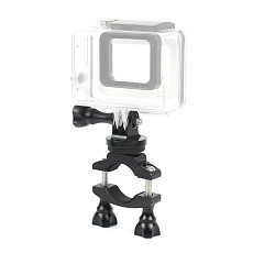 BGNing Bike Mount Bicycle Bracket Holder Clip Rotating Accessories with Camera Tripod Mount Screw for DJI OSMO 2 GoPro SJCAM XIAOYI GitUp