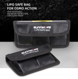 Sunnylife Battery Bag Storage Lipo Safe Explosion-Proof Applicable for DJI OSMO ACTION