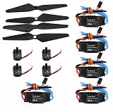 T-Motor Air Gear 450 Power Air2216+T1045 Combo AIR2216 880KV 4 Motor+4 1045 Propellers + 30A ESC for RC FPV Drone Quadcopter