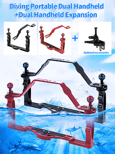 Underwater Light Stabilizer Tray for   Diving Photo Bracket Kit Handheld
