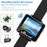 UK Stock Boscam FPV Watch 200RC 5.8GHz 40CH HD 960*240 2 TFT Monitor Wireless Receiver for DIY RC Camera Heli Quadcopter
