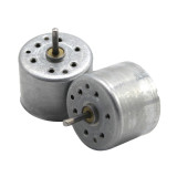 4x DC Motor DC3V-6V Low Voltage 310 Micro Motor Long Shaft 10mm/17mm for Solar Four-Wheel Drive Car DIY Experimental Small Toys