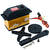 JX Servo PDI-HV2060MG 60KG Super Torque Digital Gasoline Servo 180 Degrees Arm Digital Servo + 25T Steering Arm