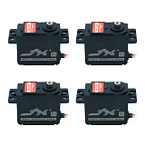 JX 4Pcs Servo PDI-HV5523MG 23KG High Torque Metal Gear Digital Servo High Pressure Standard Steering Gear