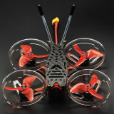 QWinOut 100mm 3K Carbon Fiber Frame with Motor Protector for DIY Quadcopter