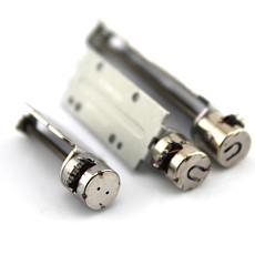 10x Round Micro Stepper Motor 8mm 2-phase 4-wire with Bracket Stepping Slide 30mm/40mm/51mm for Camera Slide Motor Diy Slider