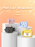 CQ-1 Universal Car Mount Holder Cute Cartoon Phone Holder Anti-shake 360 Degree Rotate Bracket For 4.5-6.5 inch Smartphone